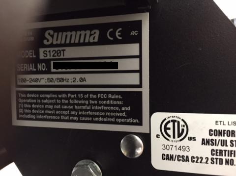 SUMMA S120T/ 48