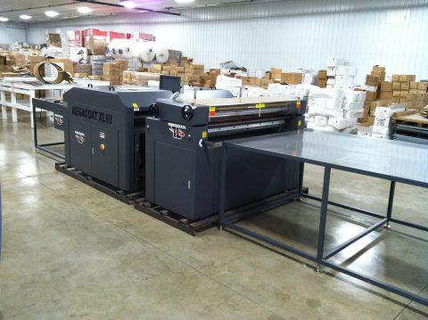 Tec Lighting Uv Roll Coater Digital Equipment Brokers