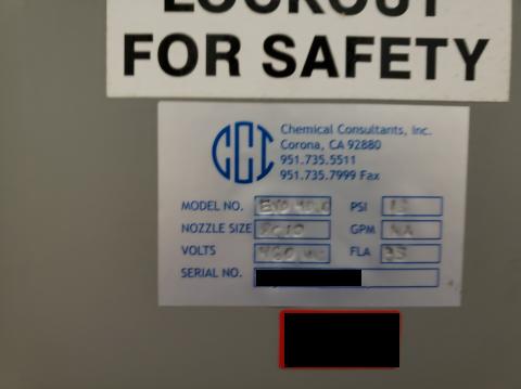 CHEMICAL CONSULTANTS SCREEN WASHER EVO - Digital Equipment Brokers